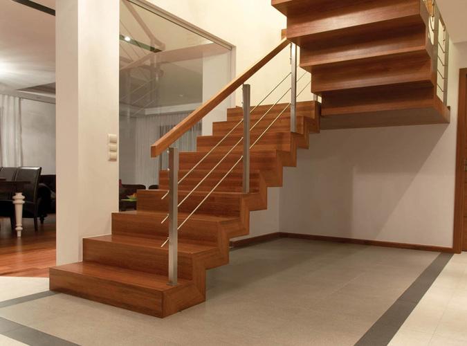 Schody drewniane Olsztyn - Schody dywanowe 001