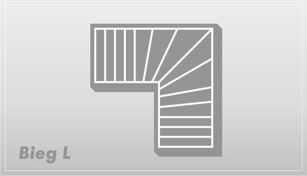 Rodzaje schodow - Bieg typu L | Olsztyn