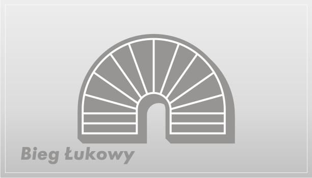 Rodzaje schodow - Bieg typu łukowego | Olsztyn